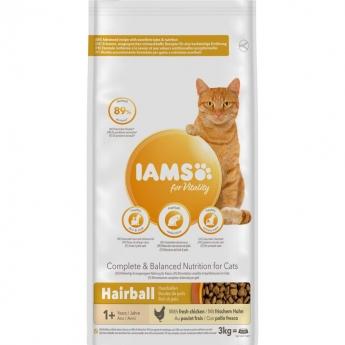 Iams for Vitality Cat Adult Hairball