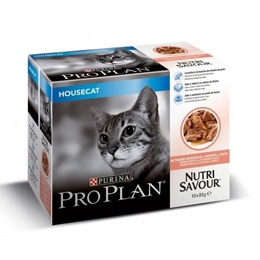 ProPlan Housecat Salmon Multipack Wet (10x85g)