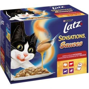 Latz Sensations Sauces Kött 12x100 g