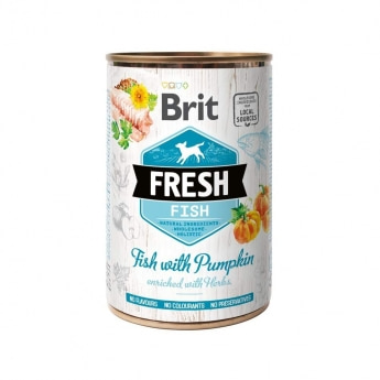 Brit Fresh Cans Fish with Pumpkin