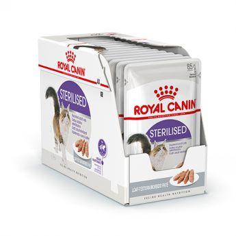 Royal Canin Cat Sterilised Loaf 12x85 g
