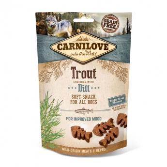 Carnilove Dog Semi Moist Snack Trout & Dill