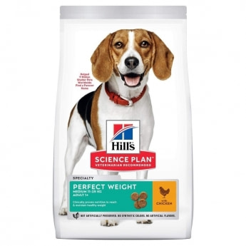 Hill's Science Plan Dog Adult Medium Perfect Weight Chicken