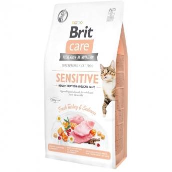 Brit Care Cat Grain Free Sensitive Healthy Digestion & Delicate Taste