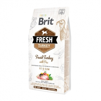 Brit Fresh Turkey with Pea Light Fit & Slim (2,5 kg)