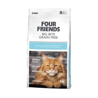 FourFriends Cat Big Bite Grain Free (6 kg)