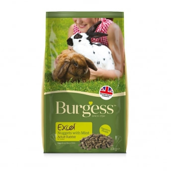 Burgess Excel Rabbit Adult Nugget with Mint