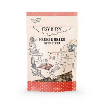 ItsyBitsy Cat Freeze Dried Beef Liver