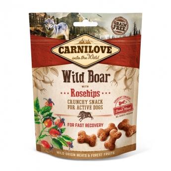 Carnilove Dog Crunchy Snack Wild Boar & Rosehips