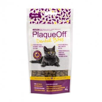 PlaqueOff Cat Dental Bites 60 g