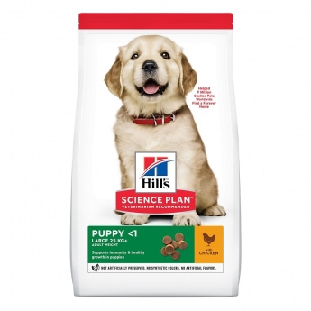 Hill's Science Plan Puppy Large Breed med Kyckling 14,5 kg