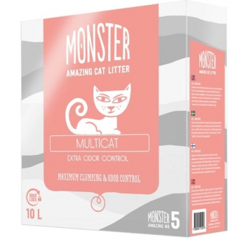 Monster Kattsand Multicat 10 liter