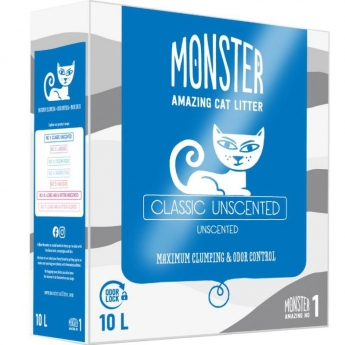 Monster Kattsand Classic Unscented 10 liter