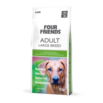 FourFriends Dog Adult Large Breed (12 kg)