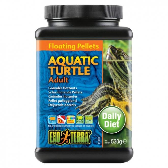 Exo Terra Aquatic Turtle Adult Floating Pellets 530 g