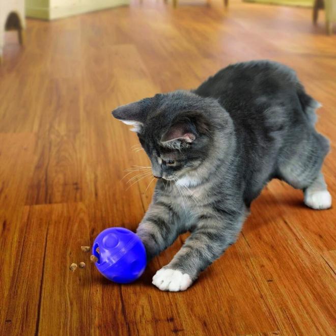 KONG Cat Aktiveringsboll Lila