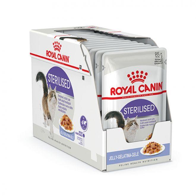 Royal Canin Sterilised Jelly Wet (12x85g)