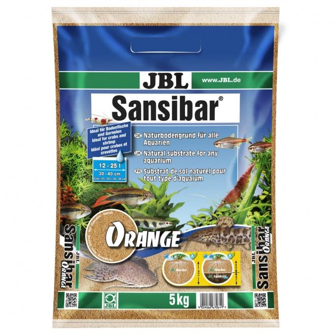 JBL Sansibar Akvariegrus Orange 5 kg