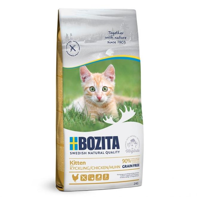 Bozita Kitten Grain Free Chicken (2 kg)