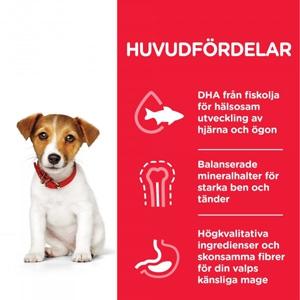Science Plan Puppy Small & Mini med Kyckling (3 kg)