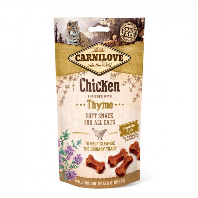 Carnilove Cat Semi Moist Snack Chicken & Thyme