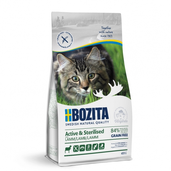 Bozita Active & Sterilised Grain free Lamb (400 g)