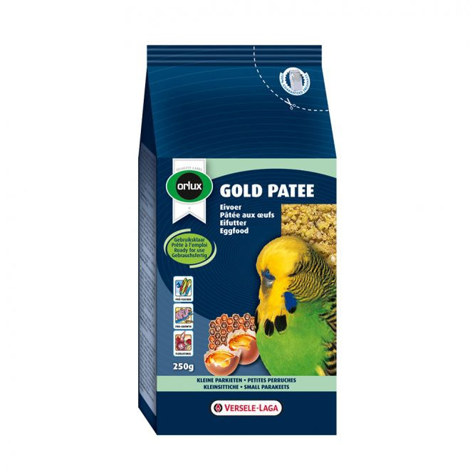 Orlux Äggfoder Gold Patee Undulat