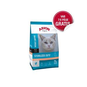 Arion Original Cat Sterilized Salmon (2 kg)