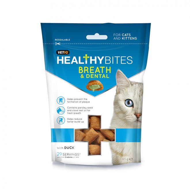 VetIQ Cat Healthy Bites Dental 65 g