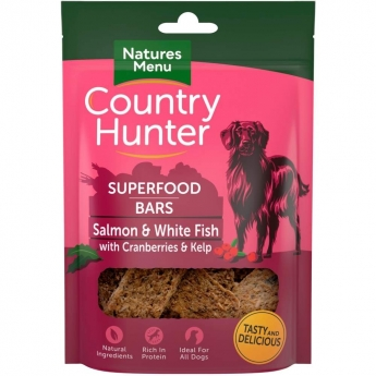 NaturesMenu Country Hunter Superfood Bar kala 100 g