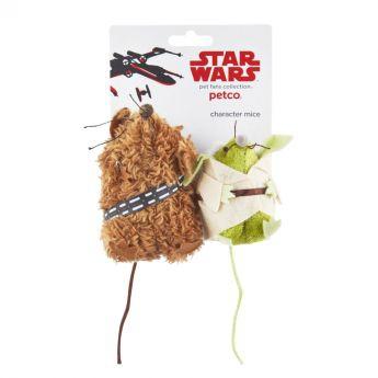 PCO Star Wars Yoda & Chewbacca kissanlelu (Monivärinen)