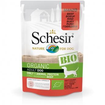 Schesir Bio Dog Adult Beef (85 g)