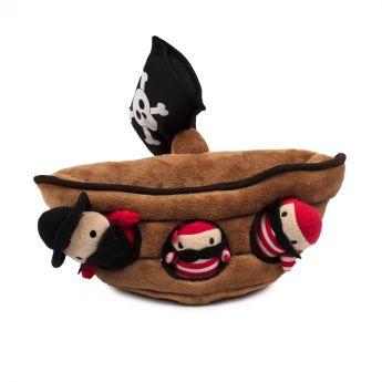 Little&Bigger HideNSeek Piraattilaiva (Ruskea)**