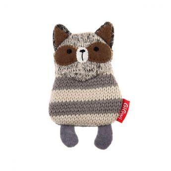 GiGwi PlushFriendz Knitted Pesukarhu (Harmaa)