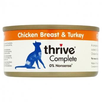 Thrive Adult kana ja kalkkuna (75 grammaa)