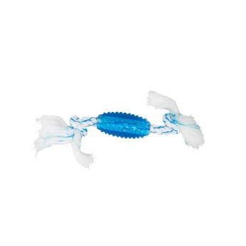 Bark-a-Boo Canine Clean TPR-vahvike-naru sininen