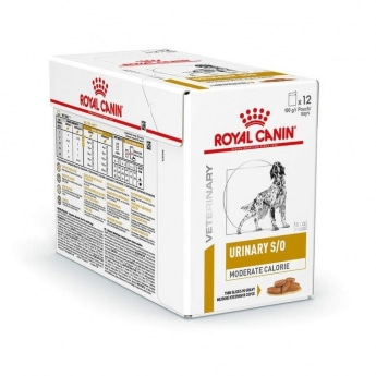 Royal Canin Veterinary Urinary Moderate Calorie 12x100g