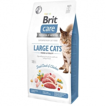 Brit Care Cat Grain-Free Large cats Power & Vitality