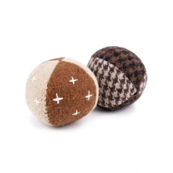 Gaia Upcycled Wool kissanlelu Midi-pallot 2-pack