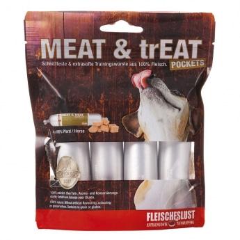 MEAT & trEAT-Pockets Hevonen 4 x 40 g
