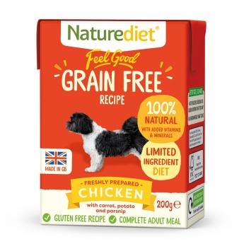 Naturediet Grain Free kana (200 g)
