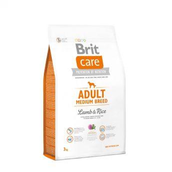 Brit Care Adult Medium Breed Lamb & Rice (3 kg)