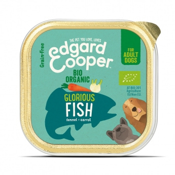 Edgard&Cooper Dog Organic kala 100 g