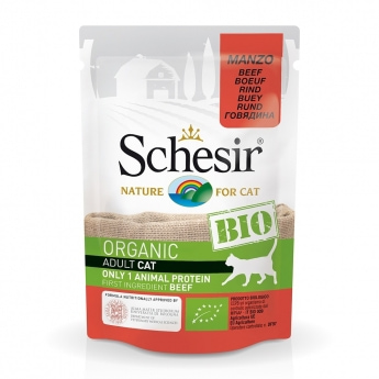 Schesir Bio Cat Adult Beef 85 g