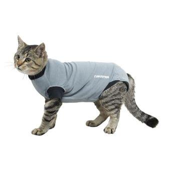 Buster haavasuoja kissa, musta/harmaa