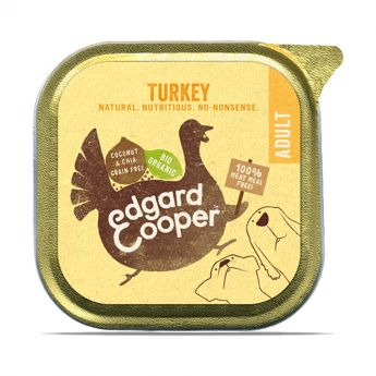 Edgard & Cooper Organic kalkkuna (100 grammaa)**