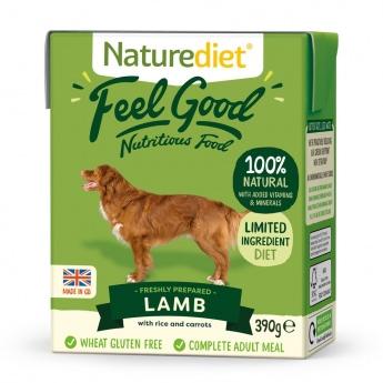 Naturediet Feel Good lammas (390 g)