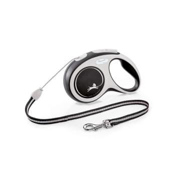 Flexi New Comfort Cord S 8 m (Musta)