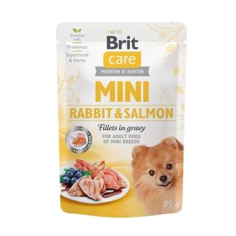 Brit Care Mini kania ja lohta kastikkeessa 85 g