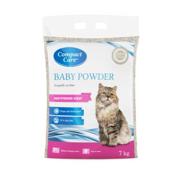 Compact Care Babypowder mikrohiekka 7kg (7 kg)